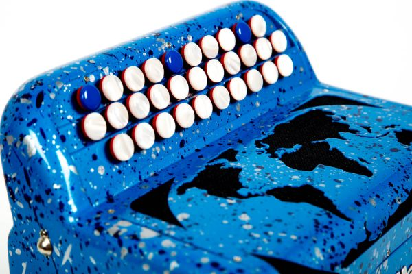 Accordéon Maugein MARIONITO bleu boutons