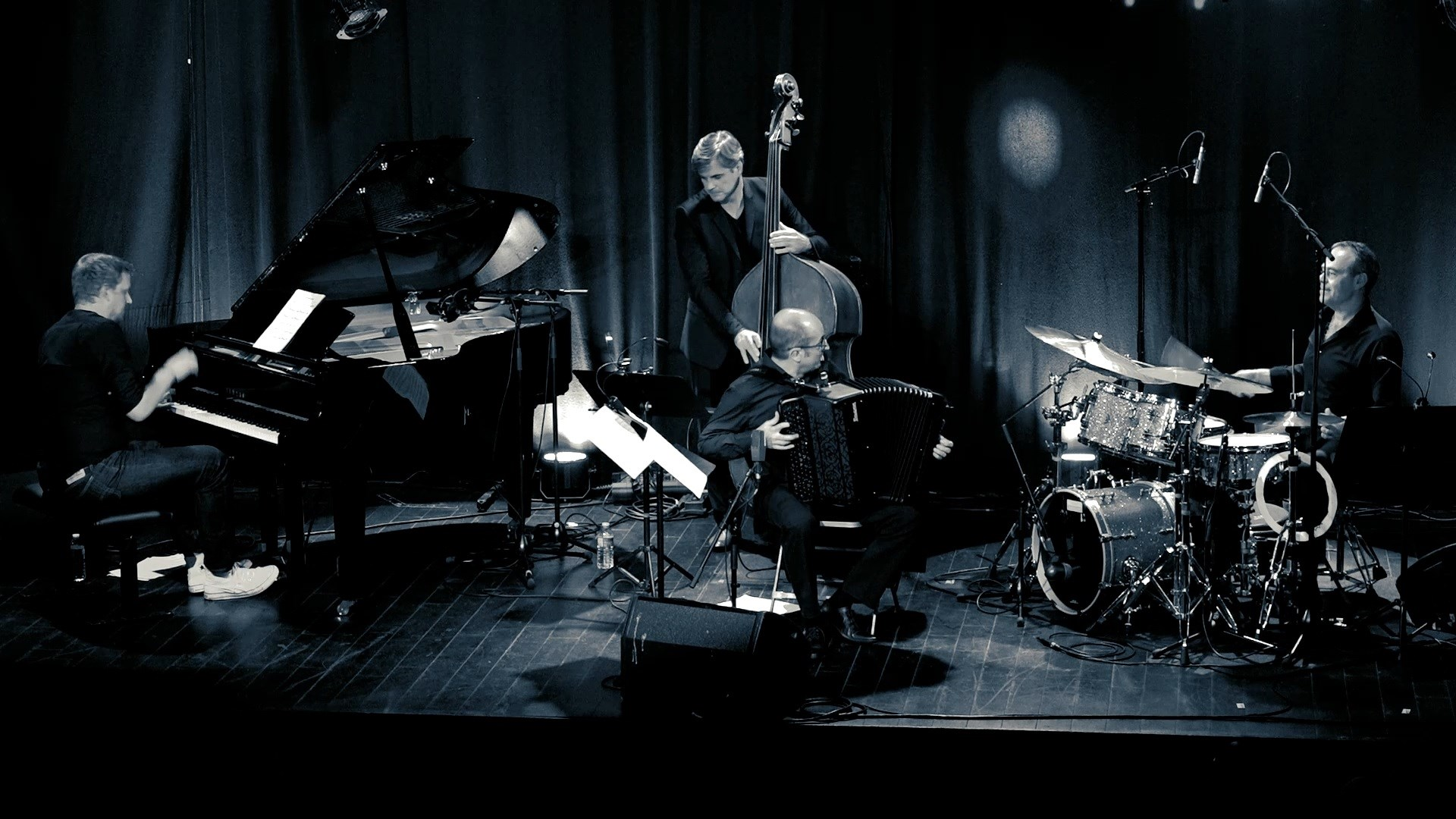 Sébastien Farge Quartet, ambassadeurs des accordéons Maugein